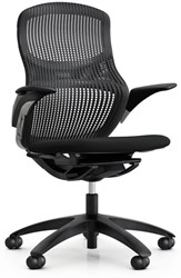 Knoll Generation Office Chair Height Adjustable Black