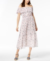 Maison Jules Off The Shoulder Maxi Dress Created For Macy's Cloud Combo
