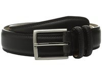 Stacy Adams 35Mm Smooth Leather Dress Belt Black Men's Belts