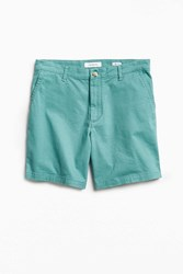 Urban Outfitters Uo Prep Chino Short Green