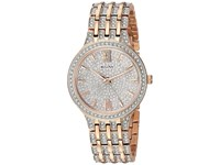 Bulova Pave Crystals 98L235 Rose Gold Watches
