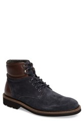 1901 'Burke' Plain Toe Boot Men Blue