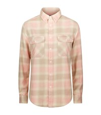 Polo Ralph Lauren Plaid Flannel Shirt Female Multi