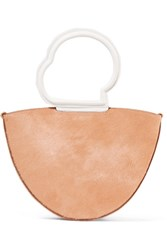 Danse Lente Lilou Calf Hair And Textured Leather Tote Blush