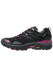 The North Face Hedgehog Fastpack Gtx Hiking Shoes Black Society Pink