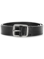 Ami Alexandre Mattiussi Large Belt Black