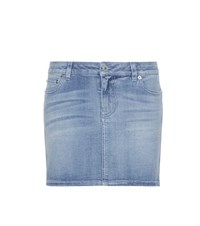 Givenchy Denim Miniskirt Blue