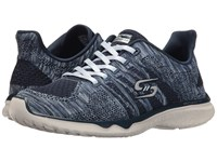 Skechers Studio Burst Edgy Navy Blue Women's Lace Up Casual Shoes Multi