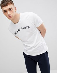 Henri Lloyd Ragian Logo T Shirt In White
