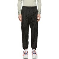 Juun.J Black Jogging Cargo Pants