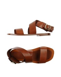 Celine Celine Footwear Sandals Women Brown