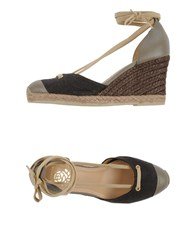 Maliparmi Footwear Espadrilles Women Dark Brown