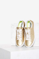 Converse Pro Leather Lp Ox Vegan Leather Sneaker Gold 72761