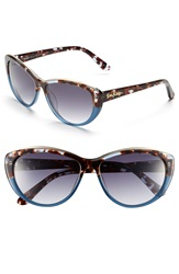 Lilly Pulitzer 'Marianne' Cat Eye Sunglasses Gradient Blue Tortoise