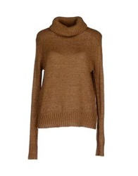 Vero Moda Turtlenecks Camel