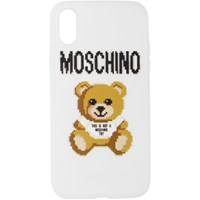Moschino White The Sims Edition Teddy Iphone Xs X Case