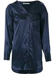 Martha Medeiros Barbara Shirt Blue