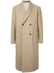 08Sircus Double Breasted Coat Brown
