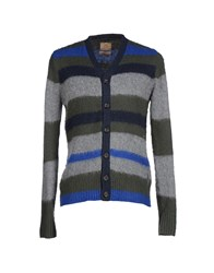 Replay Knitwear Cardigans Men Military Green