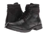 Steve Madden Gunison Black Men's Lace Up Boots