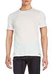 Ralph Lauren Short Sleeve Crewneck Cotton Tee White