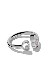 Chopard 18Kt White Gold Happy Hearts Diamond Ring Unavailable