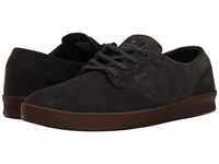 Emerica The Romero Laced Grey Gum Men's Skate Shoes Black