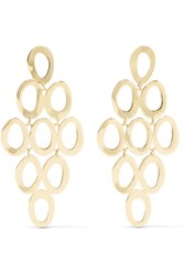 Ippolita Glamazon Cascade 18 Karat Gold Earrings One Size