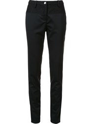 N 21 No21 Slim Fit Tailored Trousers Black