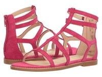 Hush Puppies Abney Chrissie Lo Persian Rose Suede Women's Sandals Pink