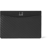 Alfred Dunhill Leather Card Holder Black