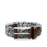 Andersons Anderson's Waxed Marl Belt Navy