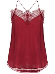 Iro Berwyn Top Red