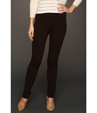Nydj Jodie Pull On Ponte Knit Legging Ganache Brown Women's Casual Pants