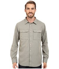Mountain Hardwear Canyon L S Shirt Stone Green Men's Long Sleeve Button Up