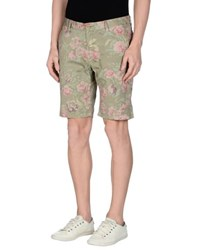Authentic Original Vintage Style Trousers Bermuda Shorts Men Military Green