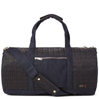 Porter Yoshida And Co. X Missoni Boston Bag Blue