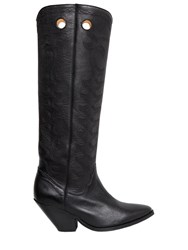 Isabel Marant Etoile 40Mm Deytta Cowboy Leather Boots
