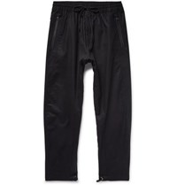 Nikelab Acg Variable Tapered Cotton Blend Drawstring Trousers Black