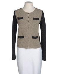 Alysi Cardigans Dove Grey