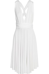 Tart Collections Infinity Convertible Stretch Jersey Dress White