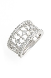 Kwiat 'Starry Night' Diamond Open Ring White Gold