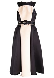Elisabetta Franchi Cocktail Dress Party Dress Black Nude