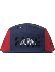 Hall Of Fame Navy Reflect Perf Cap