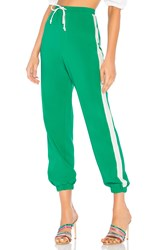 Lovers Friends Lydia Track Pant Green