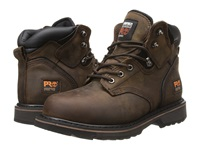Timberland 6 Pit Boss Steel Toe Gaucho Oiled Full Grain Leather Men's Work Lace Up Boots Brown