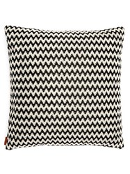 Missoni Home Varsavia Zigzag Cushion Black White