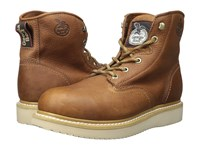 Georgia Boot 6 Wedge St Barracuda Gold Men's Work Boots Brown