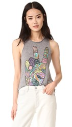 Chaser Peace Tank Grey