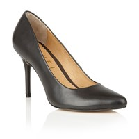 Ravel Newton Court Shoes Black Leather
